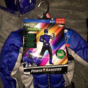 Power rangers boys costume